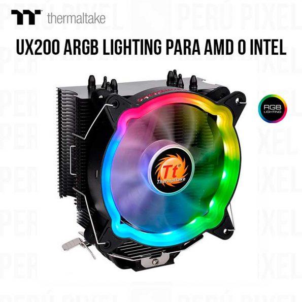 THERMALTAKE UX200 ARGB LIGHTING