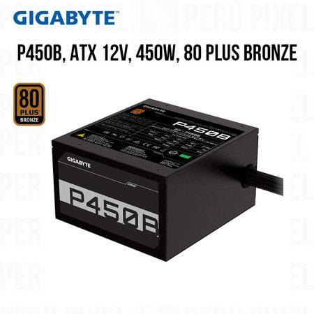 FUENTE DE PODER ATX GIGABYTE P450B 450W 80 PLUS BRONZE