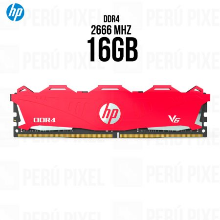Memoria RAM HP V6 Series, 16GB 1x16, 2666MHz