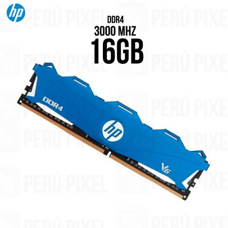 MEMORIA RAM HP V6 16GB 1X16 3000MHZ, BLUE