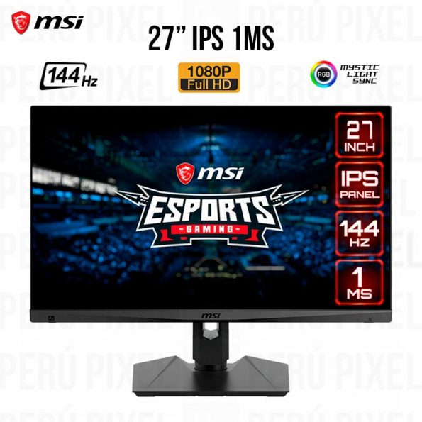 Monitor MSI OPTIX MAG274R 27 FULL HD 144Hz 1ms