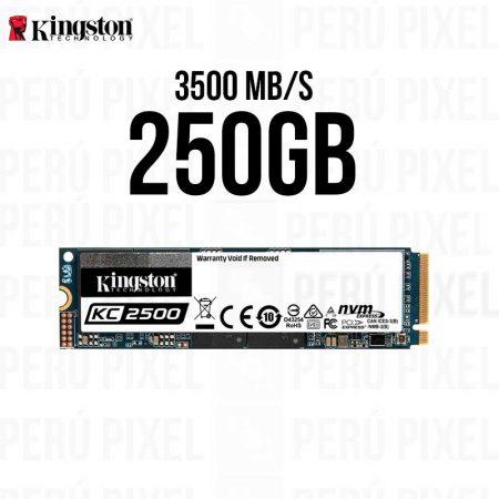 SSD M.2 2280, KINGSTON KC2500, 250GB