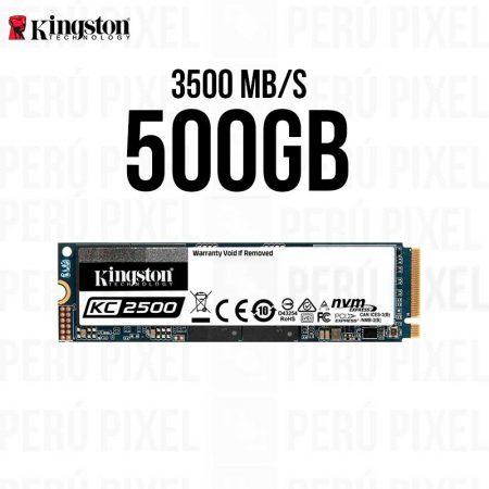 SSD M.2 2280, KINGSTON KC2500, 500GB