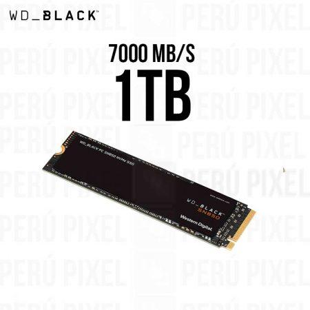 SSD M.2 2280 WD BLACK SN850 1TB NVME 7000MB/S