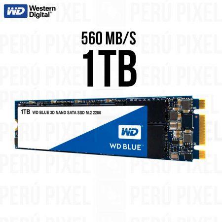 SSD M.2 2280 WD BLUE 3D NAND 1TB SATA