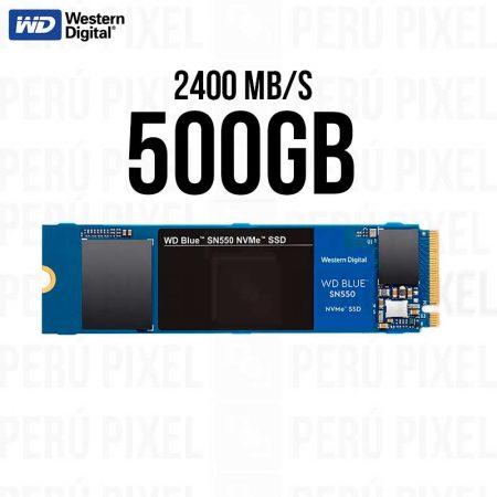 SSD M.2 2280, WD BLUE SN550, 500GB