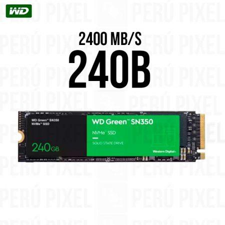 SSD M.2 2280 WD GREEN SN350 240GB NVME
