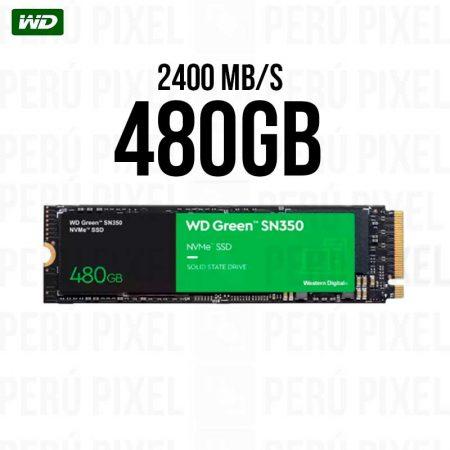 SSD M.2 2280 WD GREEN SN350 480GB NVME