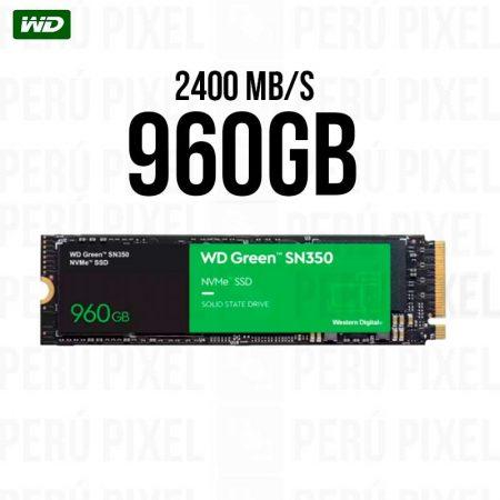 SSD M.2 2280 WD GREEN SN350 960GB NVME