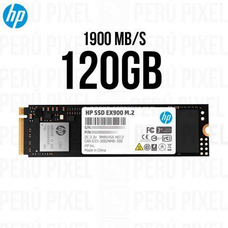 SSD M.2 HP EX900, 120GB