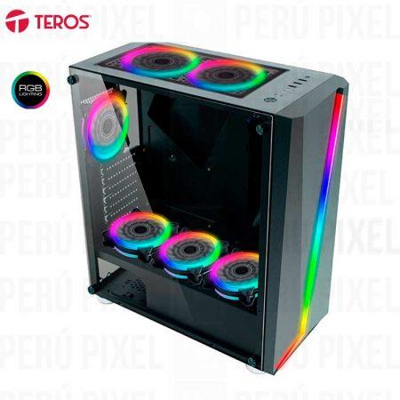 Case Gamer Teros TE1161N, Mid Tower, Negro