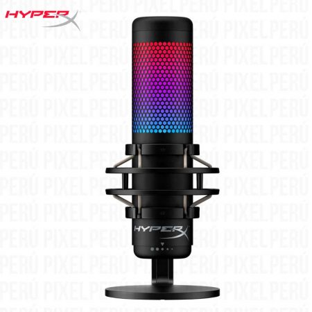 Micrófono Gamer HYPERX Quadcast S RGB